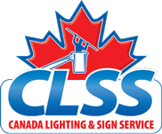 Canada Lighting and Sign Service Official Logo - Mobile Menu Logo